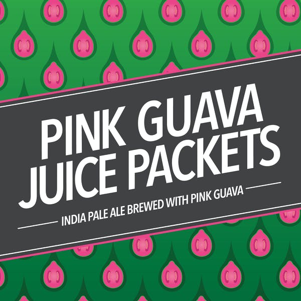 Pink Guava Juice Packets