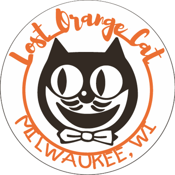 Lost Orange Cat (Circle Image)