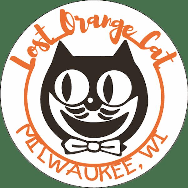 Lost Orange Cat (Circle Image)