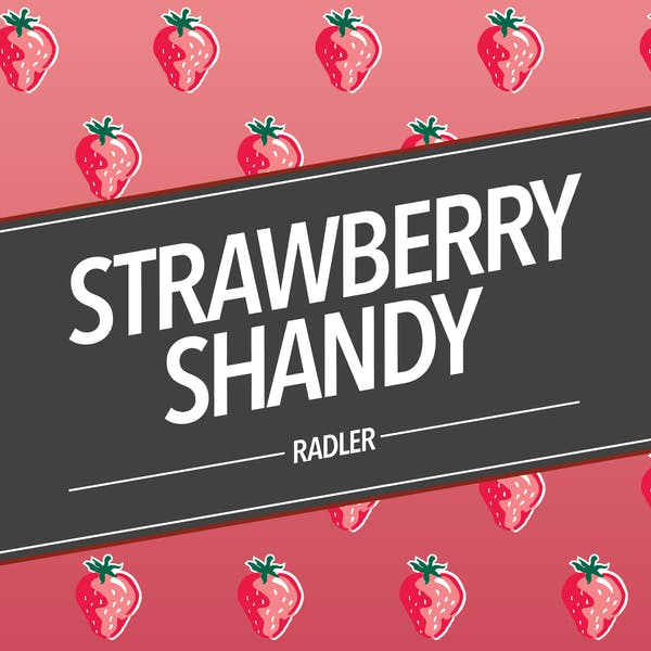 Strawberry Shandy