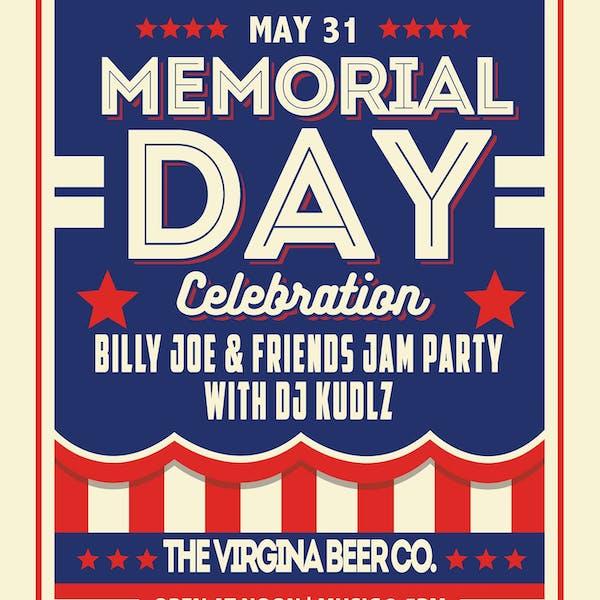 Memorial Day Music Poster