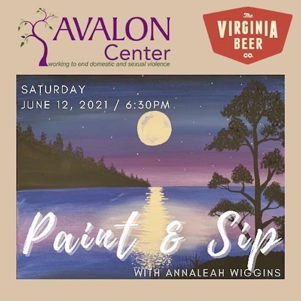 Avalon Fundraiser Poster
