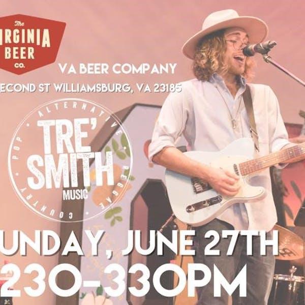 Tre' Smith at Virginia Beer Co.