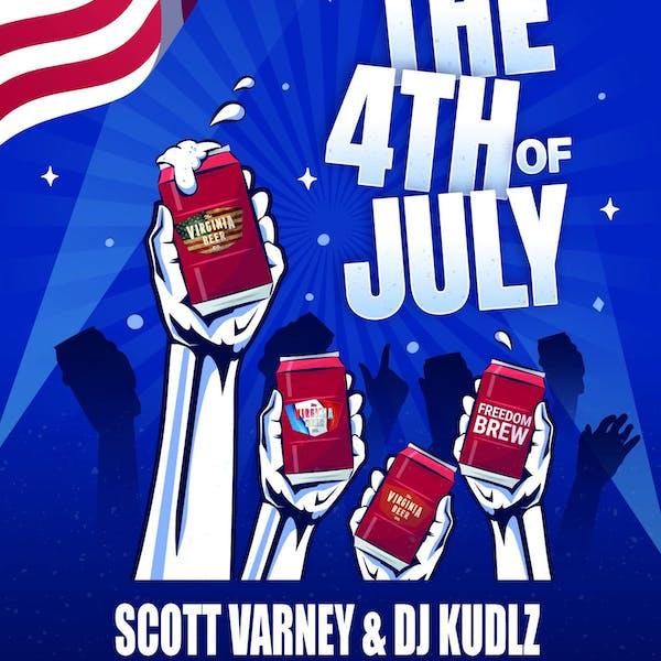 7月4日果酱:斯科特·瓦尔尼与DJ Kudlz