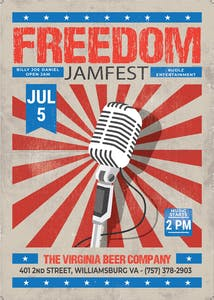 5th of July 2021 Poster