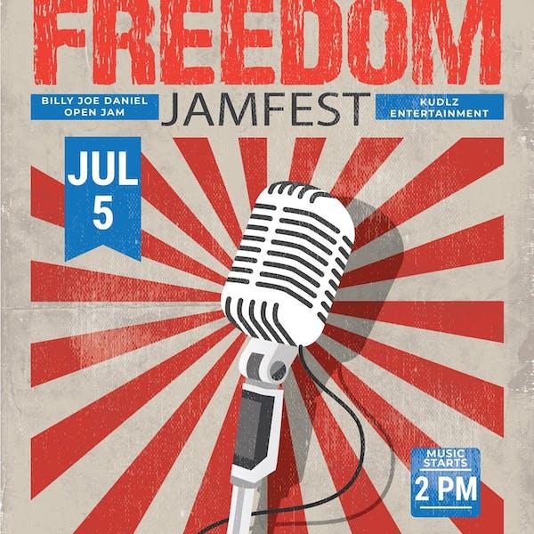 自由jamfest  - 比利乔丹尼尔和朋友w / dj kudlz