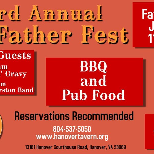 3rd Annual Father Fest