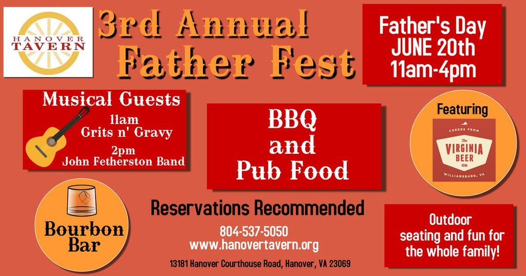 Fathers Day Fest Poster