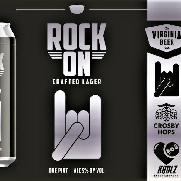 Rock On Lager Event Poster