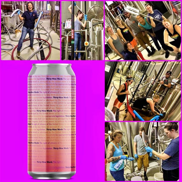 VBC Release 39 Words Lemongrass Blonde Ale to Commemorate Women's Equality Day