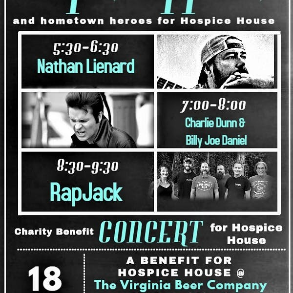 Concert Poster for Hospice House Fundraiser