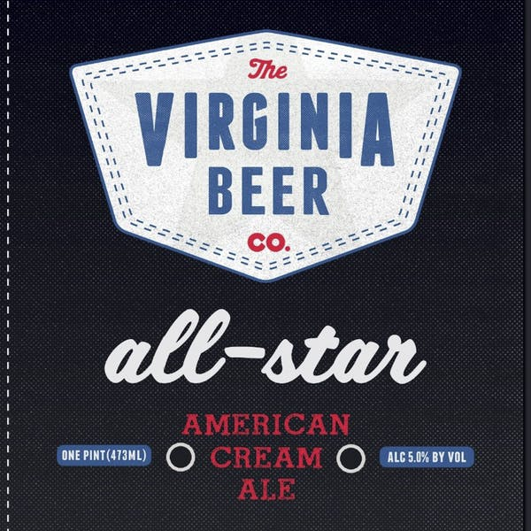All-Star Cream Ale beer artwork