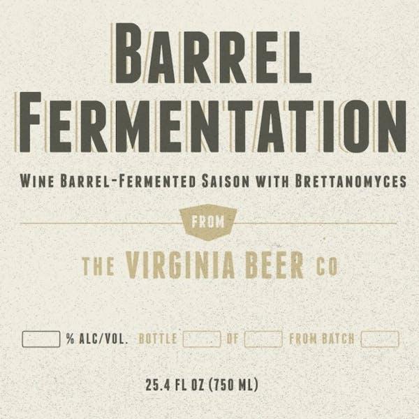 Barrel Fermentation IV beer artwork