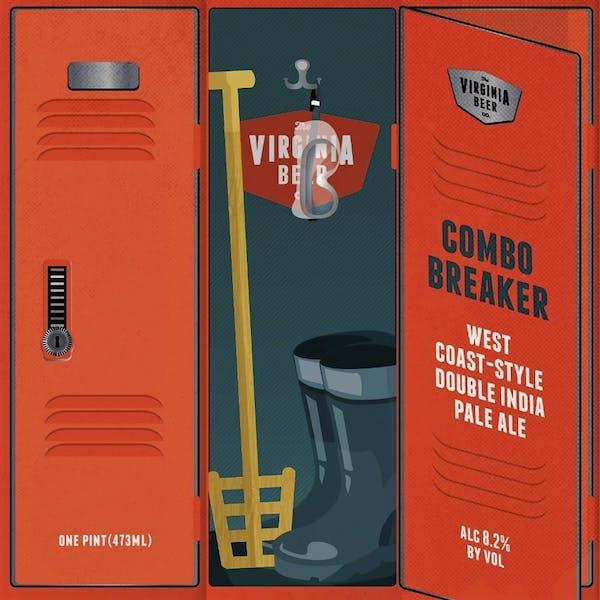 Combo Breaker West Coast DIPA beer artwork