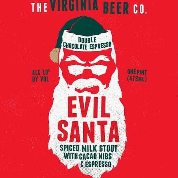 Image or graphic for Double Chocolate Espresso Evil Santa