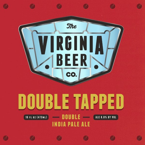 Double Tapped beer artwork