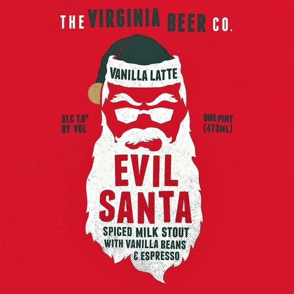 Image or graphic for Vanilla Latte Evil Santa