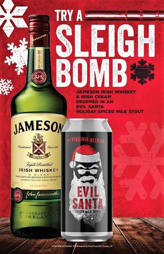 Evil Santa Sleigh Bomb Sell Sheet
