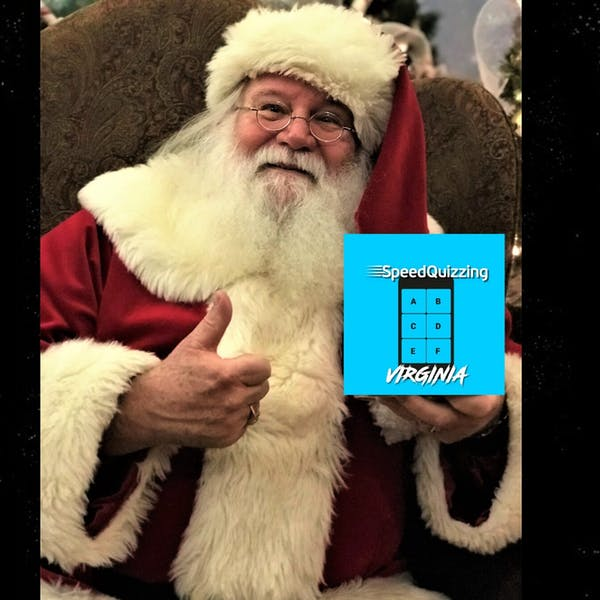 Christmas In July SpeedQuizzing Poster