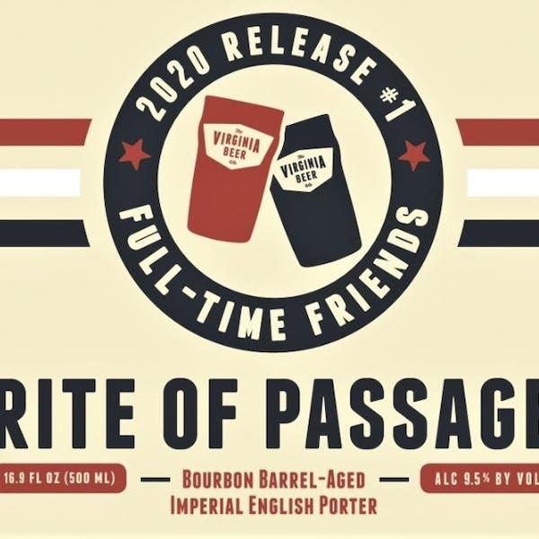 Rite of Passage beer artwork
