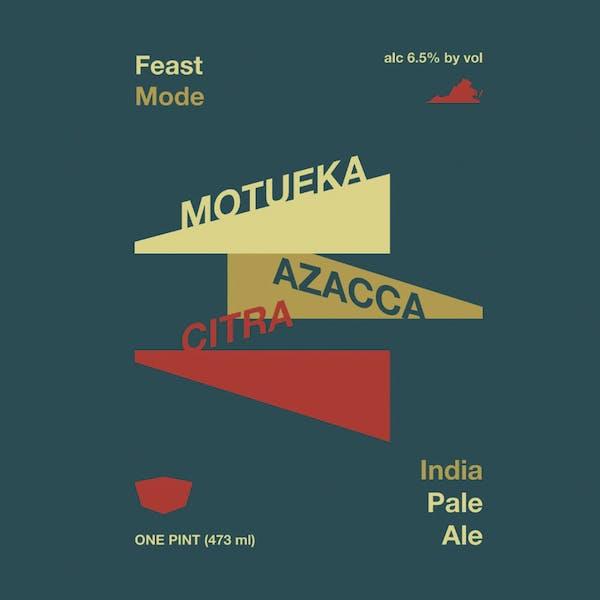 Feast Mode beer artwork