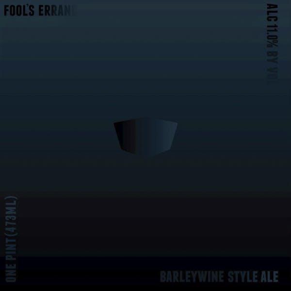Fool's Errand beer artwork