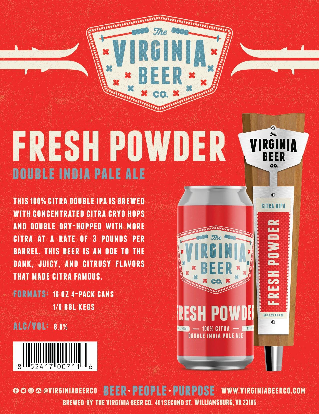 Fresh Powder Sell Sheet