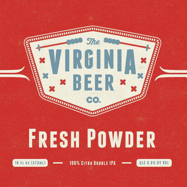 Fresh Powder beer artwork