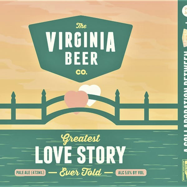 Greatest Love Story Ever Told beer artwork