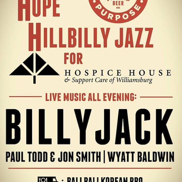 Hops, Hope, & Hillbilly Jazz for Hospice House