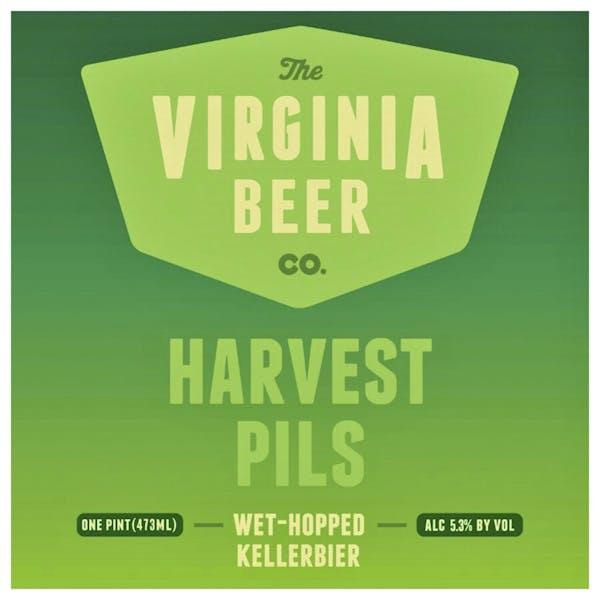 Harvest Pils beer artwork