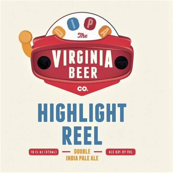 Highlight Reel beer artwork