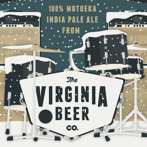 Holiday Homecoming beer artwork