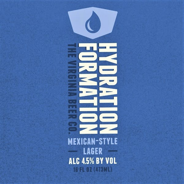 Hydration Formation beer artwork