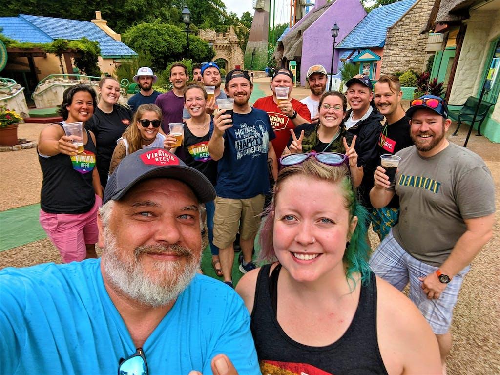 The Virginia Beer Company Team