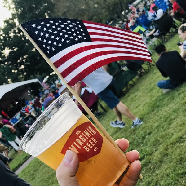 Beer and Flags