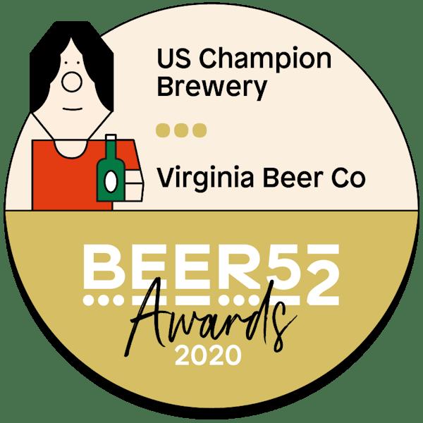 Virginia Beer Co. Receives Top International Recognition