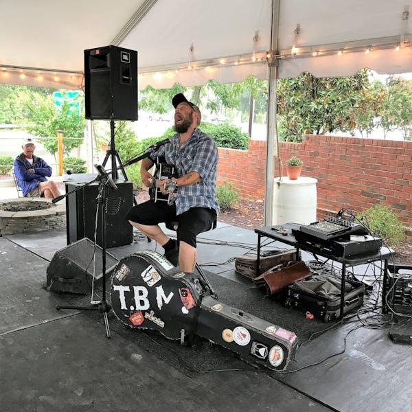 Tony Bob Merritt On Stage