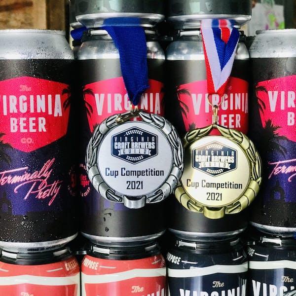 VBC Wins Big at 2021 VA Craft Beer Cup