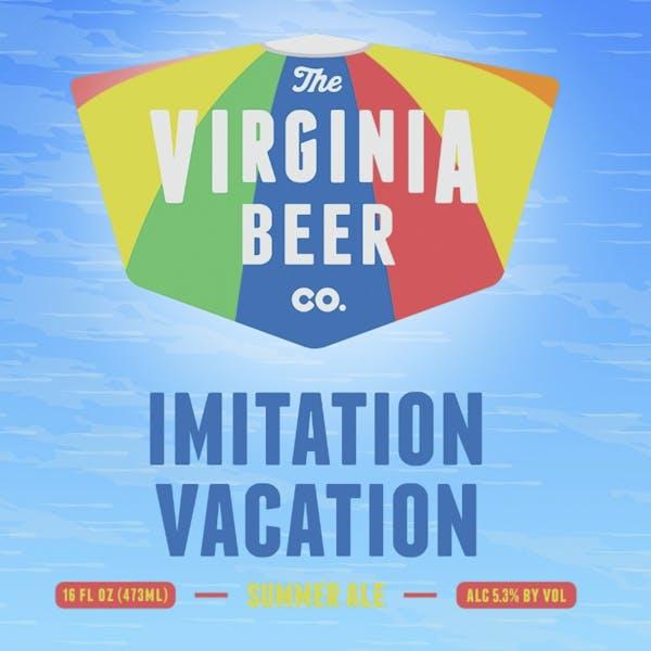 Imitation Vacation beer artwork