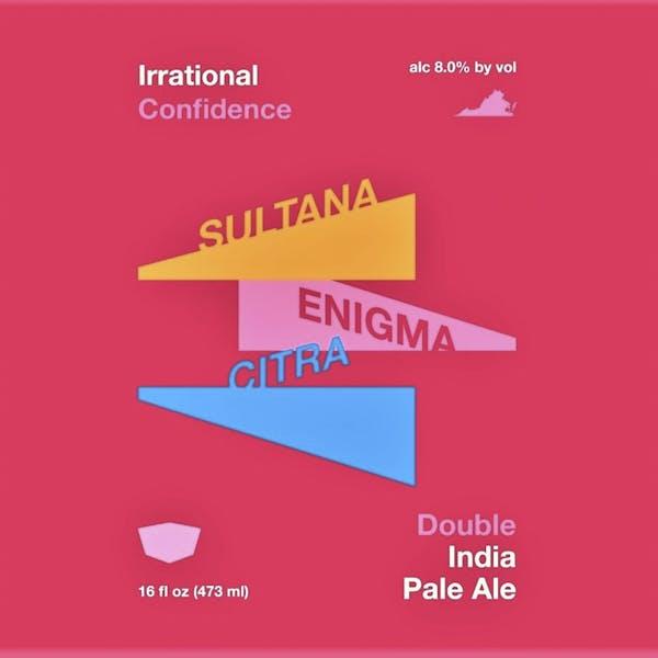 Irrational Confidence beer artwork