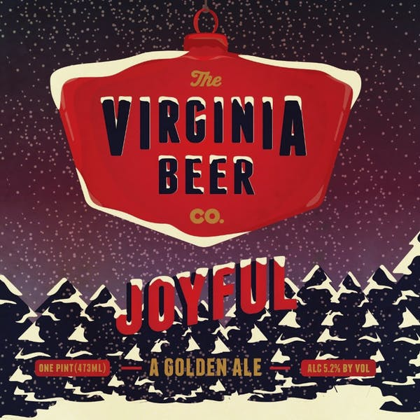 Joyful beer artwork