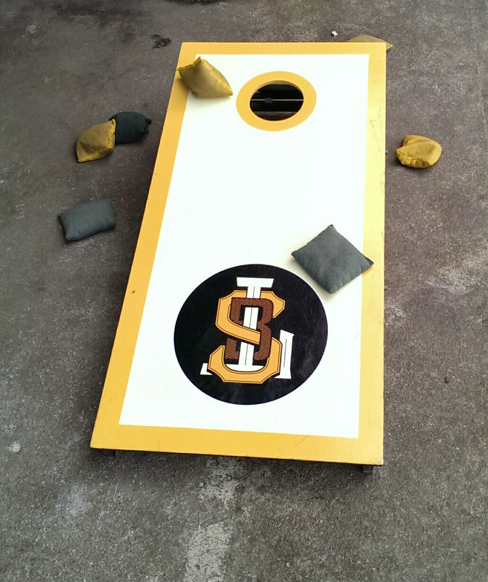 Cornhole at LSB