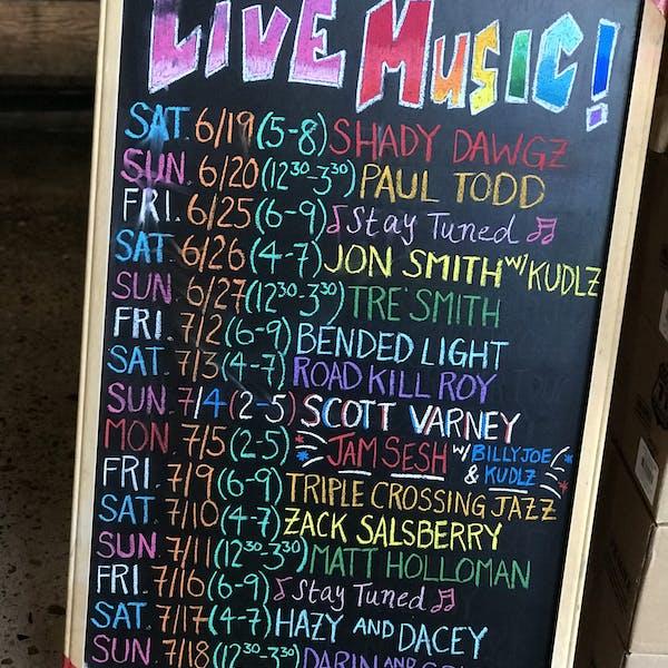 Live Music Calendar