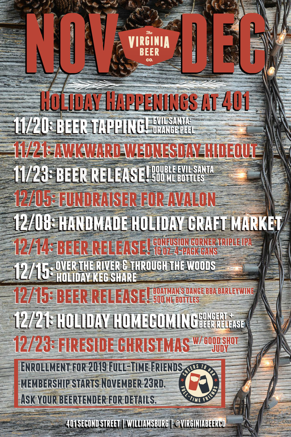 'Tis The Season For Beers & Cheers Learn More