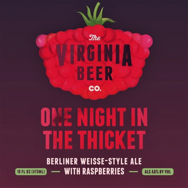 One Night In The Thicket beer artwork