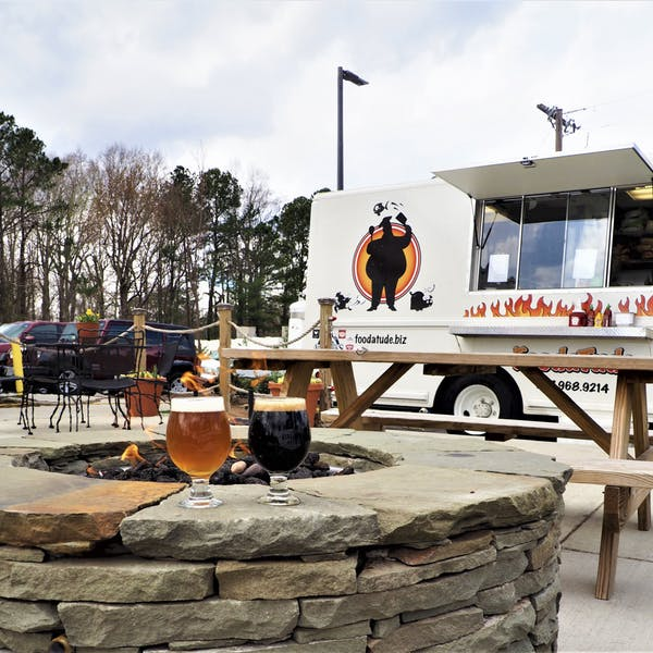 FoodaTude Food Truck by the Fire Pits