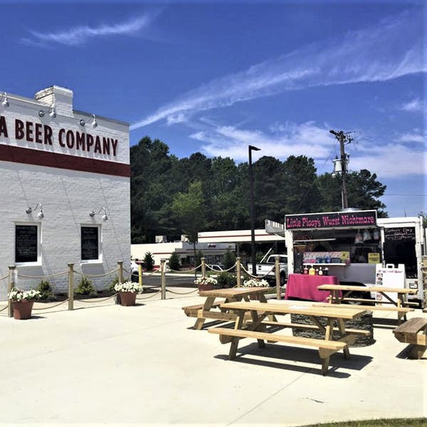 Food Truck in the Beer Garden