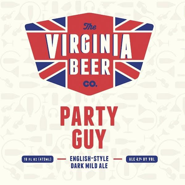 Party Guy beer artwork