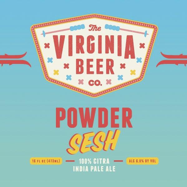 Powder Sesh beer artwork